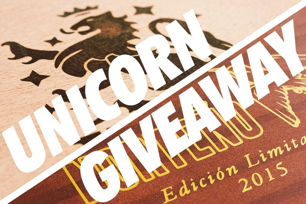 Unicorn Cigar Giveaway
