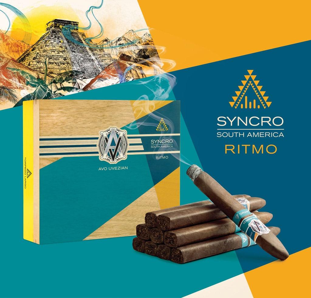 AVO Syncro South America Ritmo cigar presentation