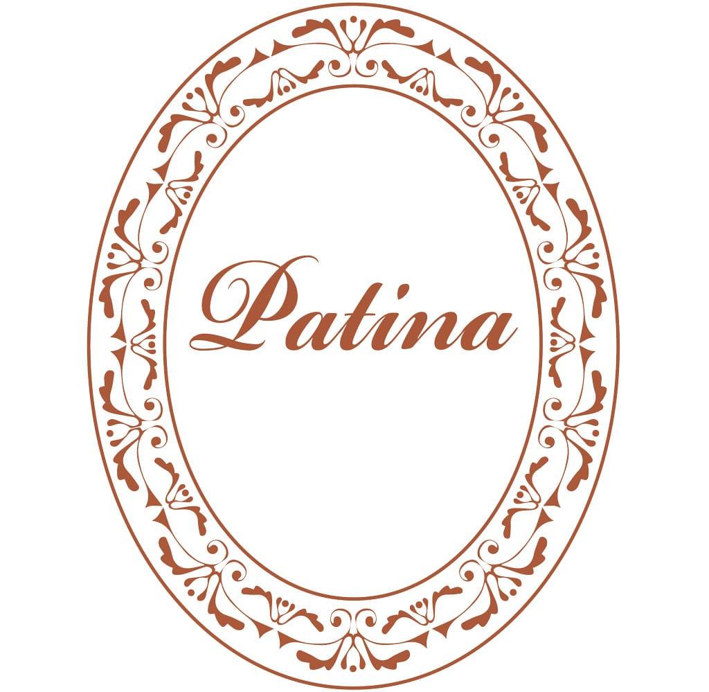 Patina Cigars emblem logo