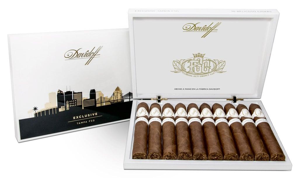 Davidoff Tampa FSG Limited edition cigar packaging