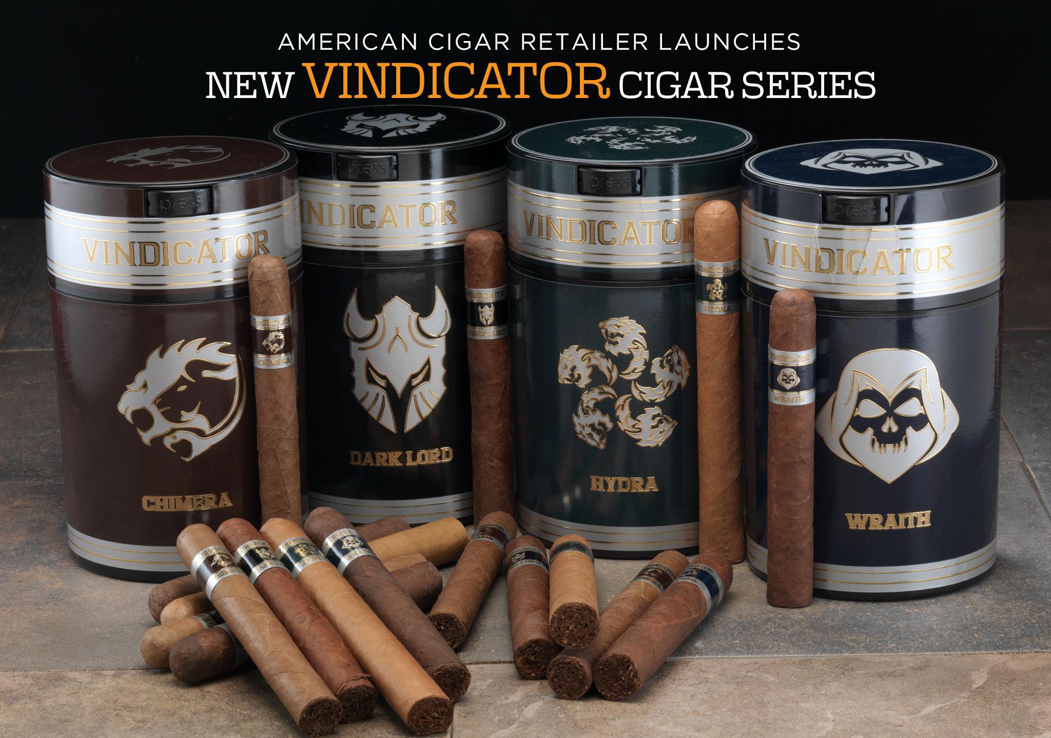 Famous Smoke Shop Altadis USA Vindicator Series