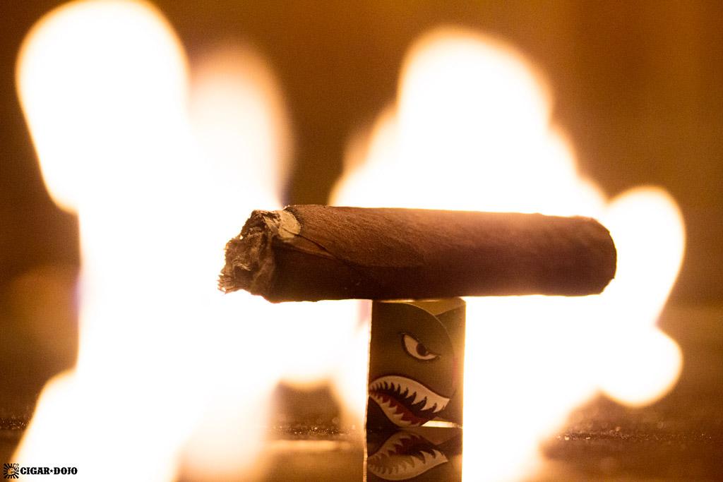 Espinosa 601 La Bomba Warhead III lancero cigar nub