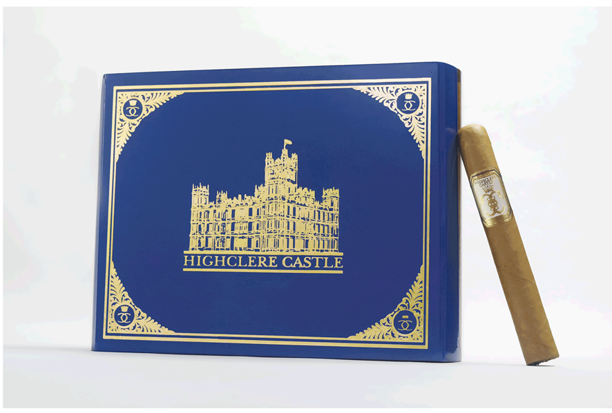Highclere Castle cigar box