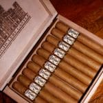 Highclere Castle cigars open box