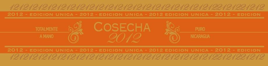 Mombacho Cigars Cosecha 2012 cigar band