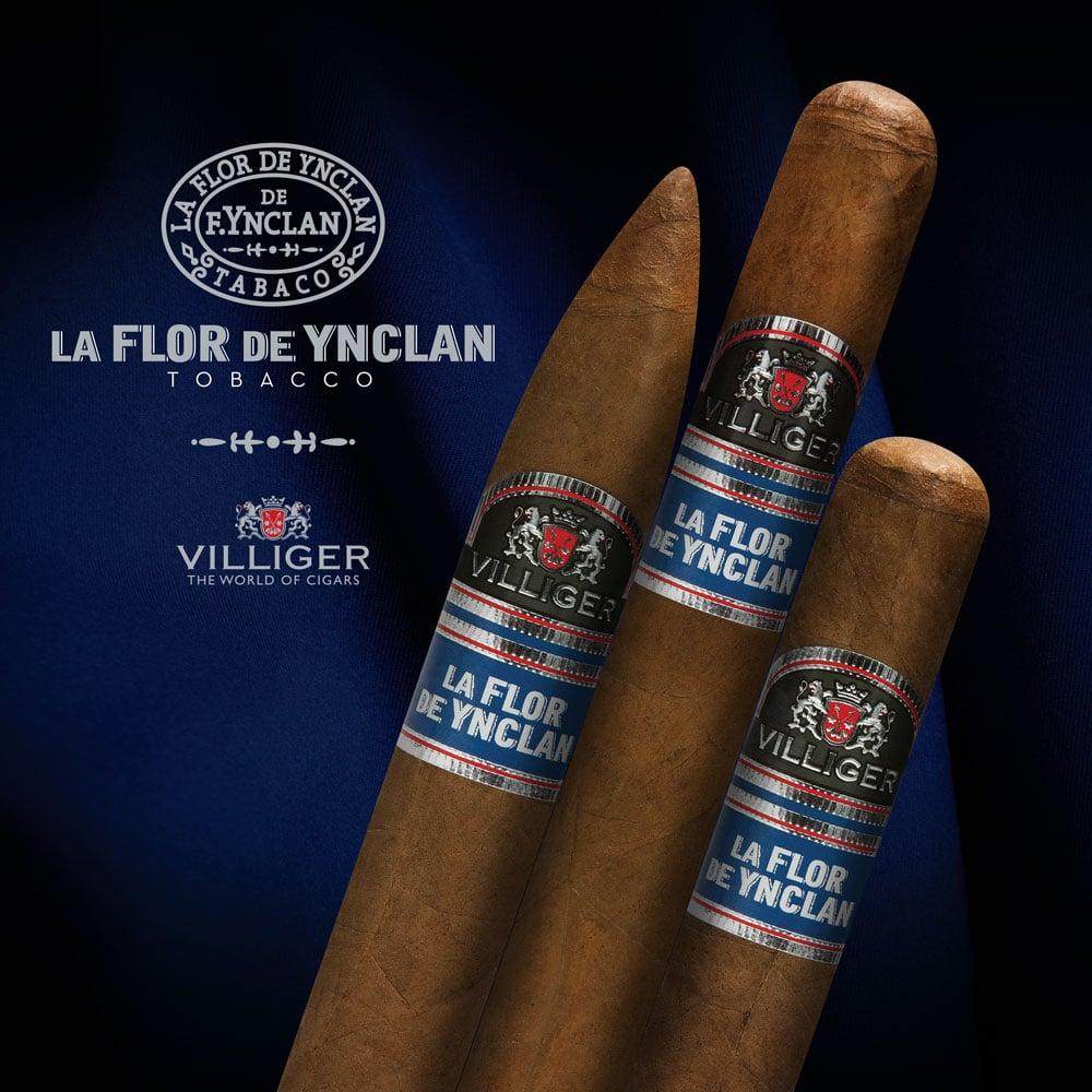 Villiger La Flor De Ynclan cigar display