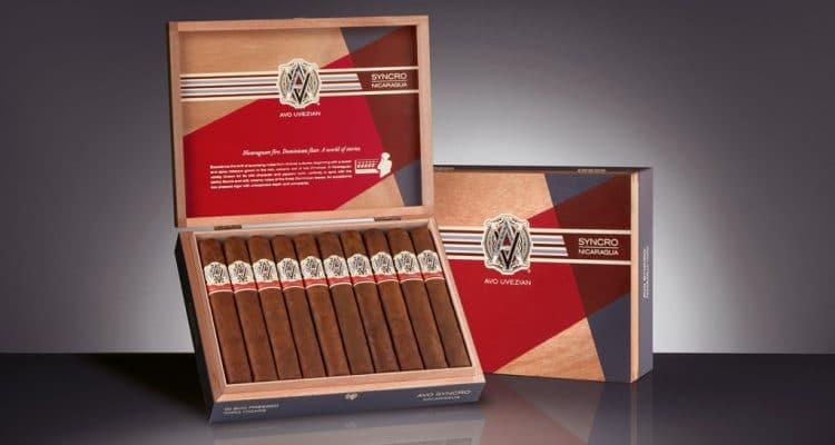 AVO Syncro Nicaragua Box-Pressed Toro Tubos cigars display