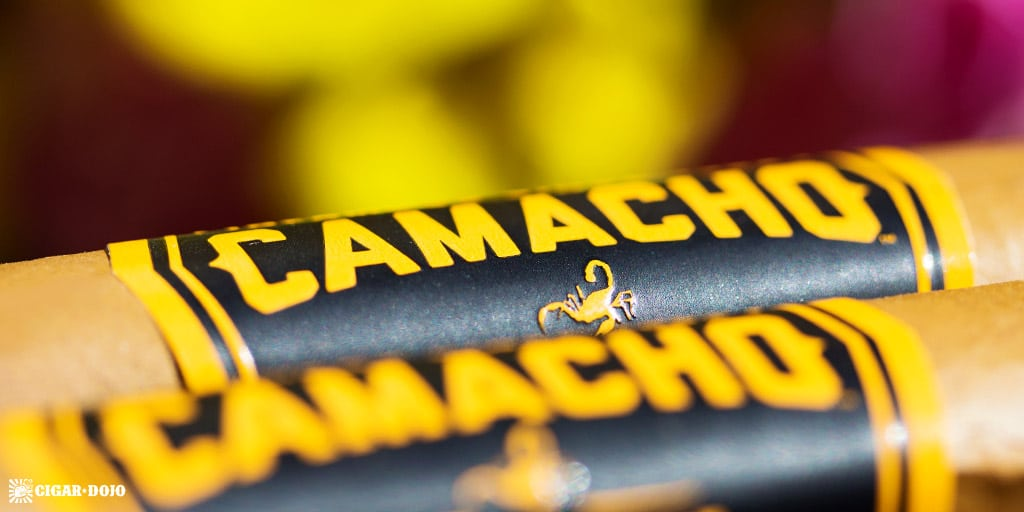 Camacho Connecticut Box-Pressed BXP cigars photography