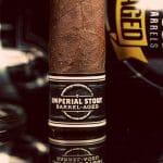 Cigar Dojo Camacho Imperial Stout Barrel-Aged cigar foot band