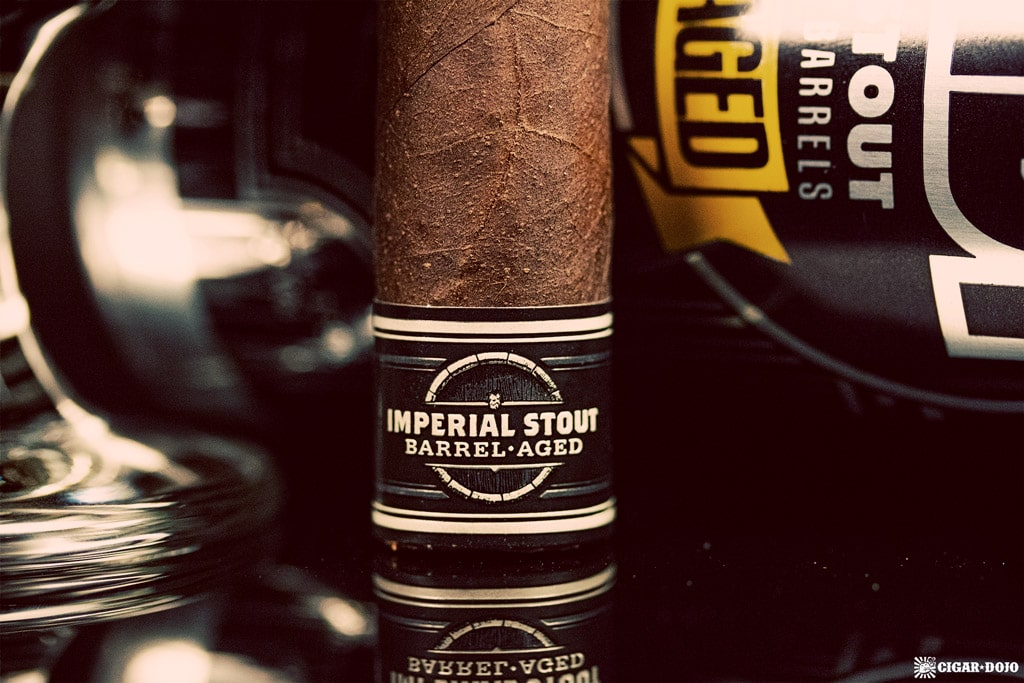 Cigar Dojo Camacho Imperial Stout Barrel-Aged cigar foot band