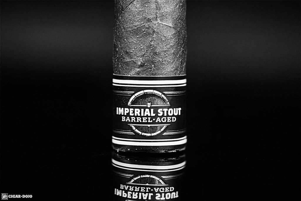 Camacho Imperial Stout Barrel-Aged cigar foot band