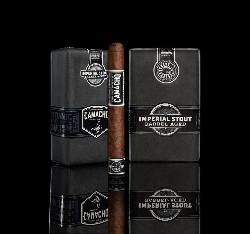 Cigar Dojo Imperial Stout Barrel-Aged by Camacho photography