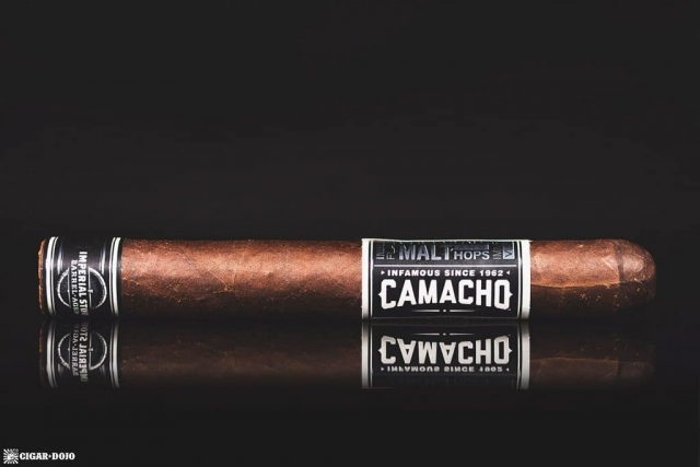 Camacho Imperial Stout Barrel-Aged cigar side