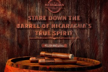 Camacho Nicaraguan Barrel-Aged promo artwork