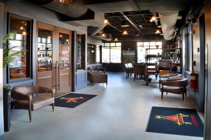 Casa de Montecristo Nashville lounge area