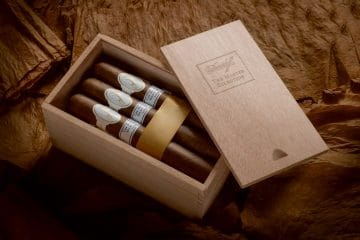 Davidoff The Master Selection Series 2008 cigar presentation