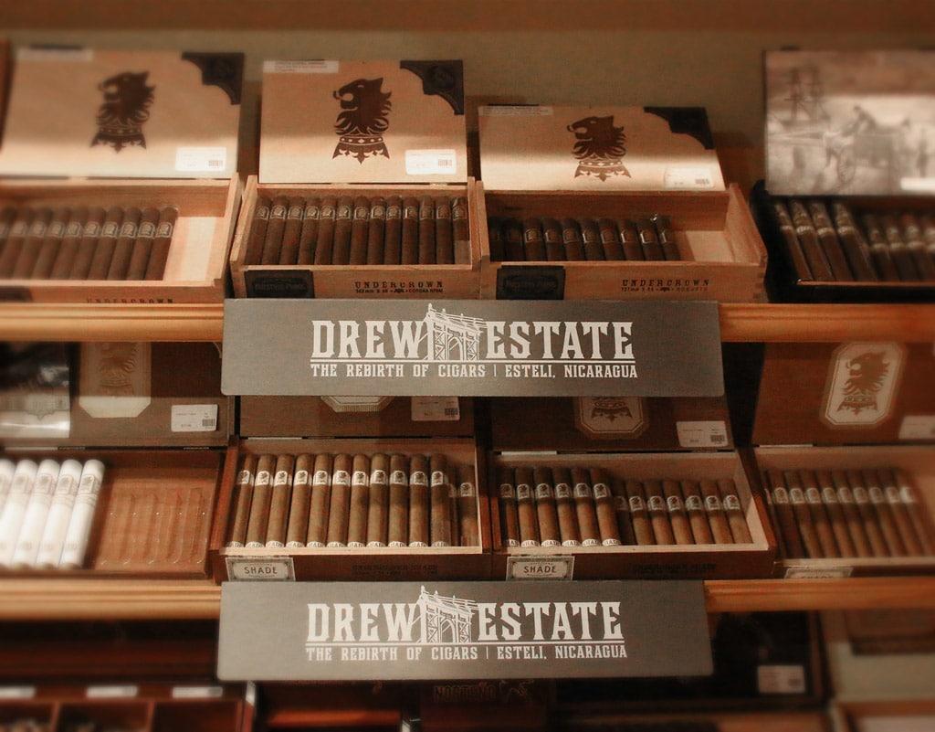 Drew Diplomat retail shelf display 2017