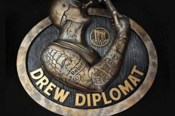 Drew Diplomat 3D Nail-Head Freak Sign