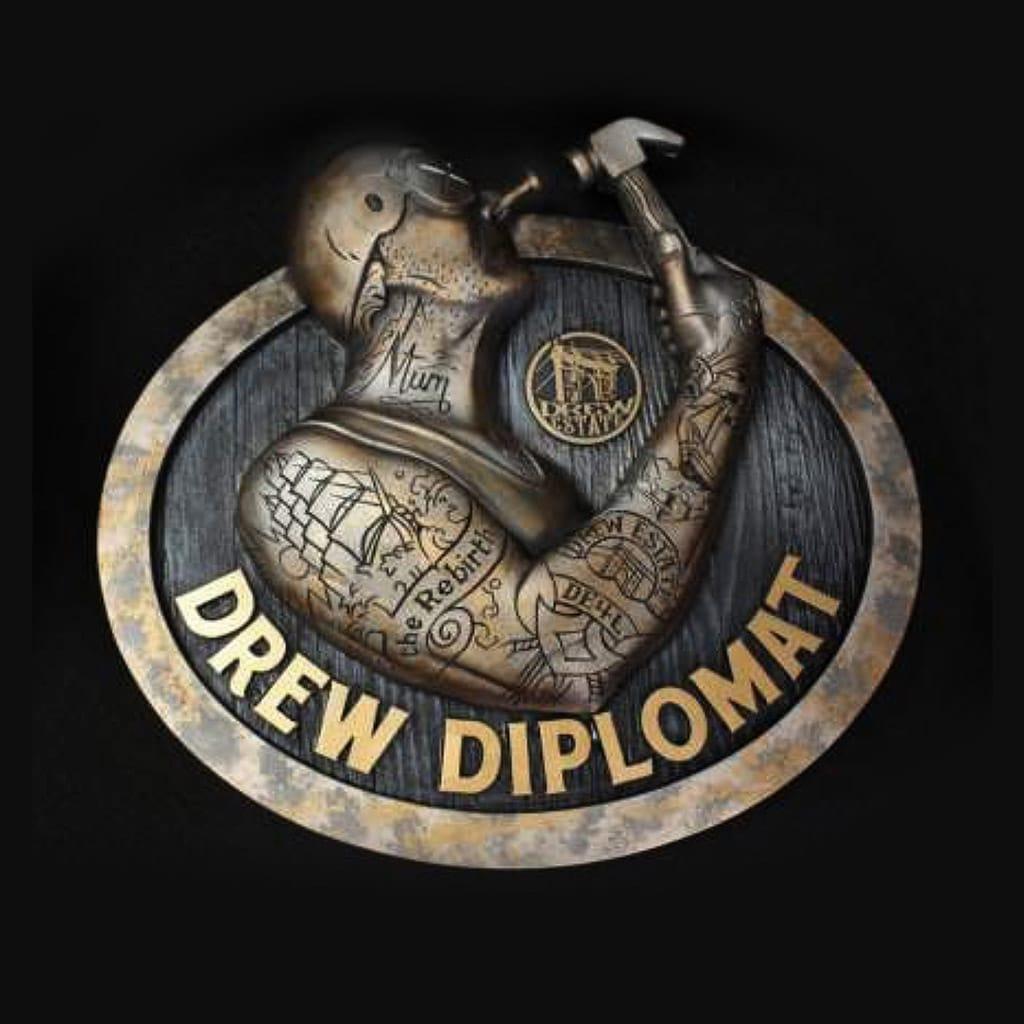 Drew Diplomat 3D Nail-Head Freak Sign