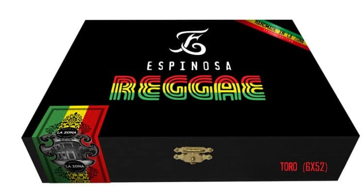 Espinosa Reggae cigar box presentation