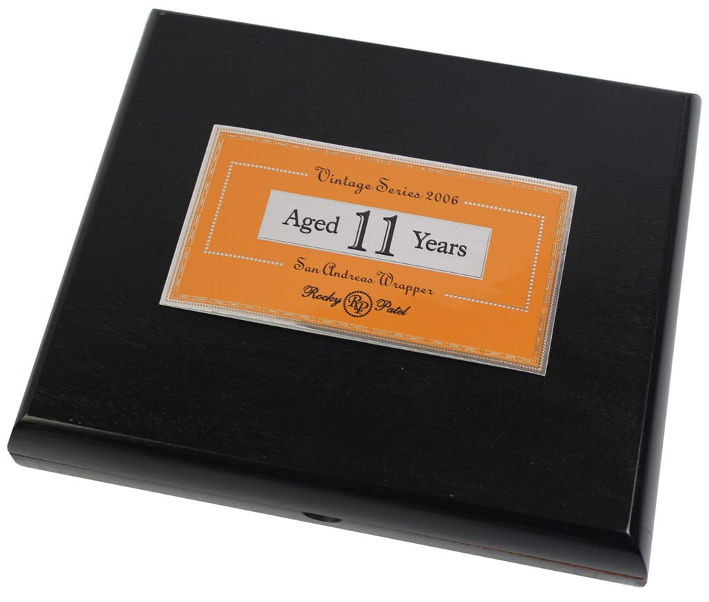 Rocky Patel Vintage Series 2006 San Andreas cigar packaging