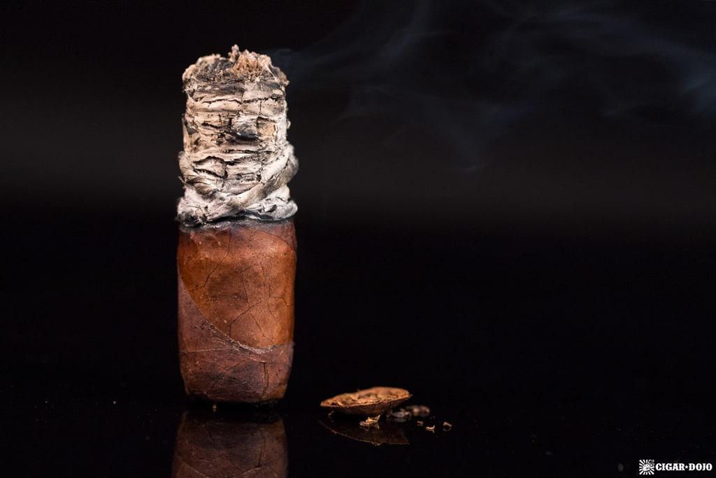 CAO Fuma Em Corda Robusto cigar nubbed