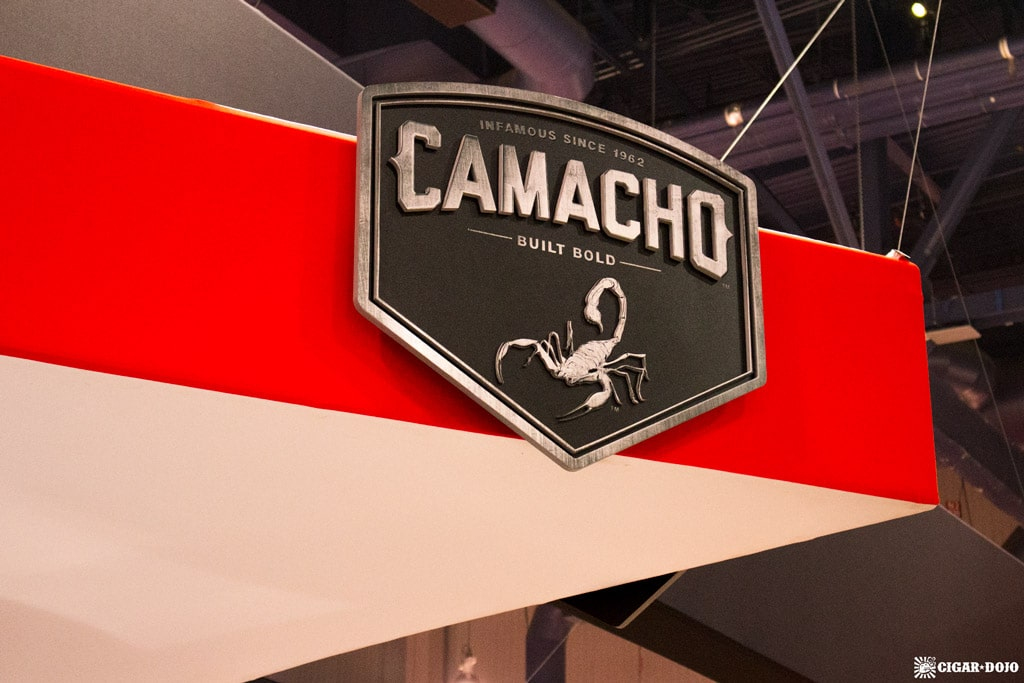 Camacho Cigars booth IPCPR 2017