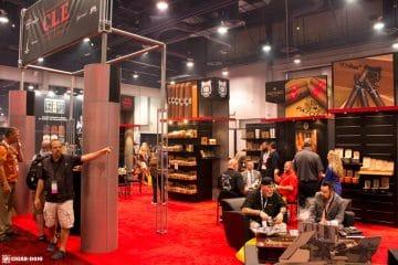 C.L.E. Cigar Company booth IPCPR 2017