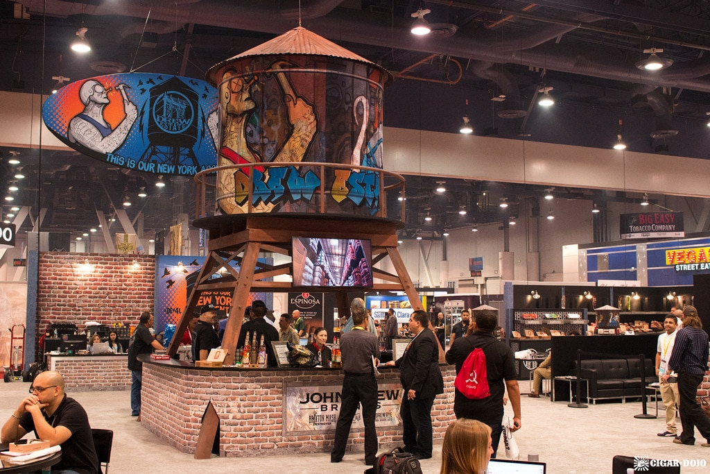 Drew Estate New York Water Tower replica IPCPR 2017