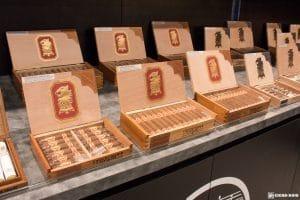 Drew Estate Undercrown Sun Grown cigar boxes IPCPR 2017