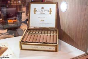 Gilberto Oliva Reserva Blanc Corona cigars IPCPR 2017