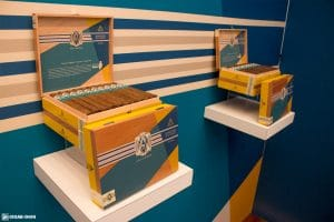 AVO Syncro South America Ritmo cigars display IPCPR 2017