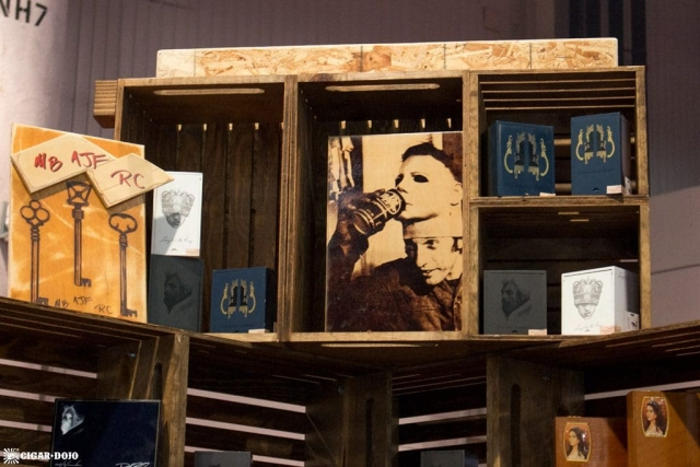 Caldwell Cigar Company booth artwork IPCPR 2017