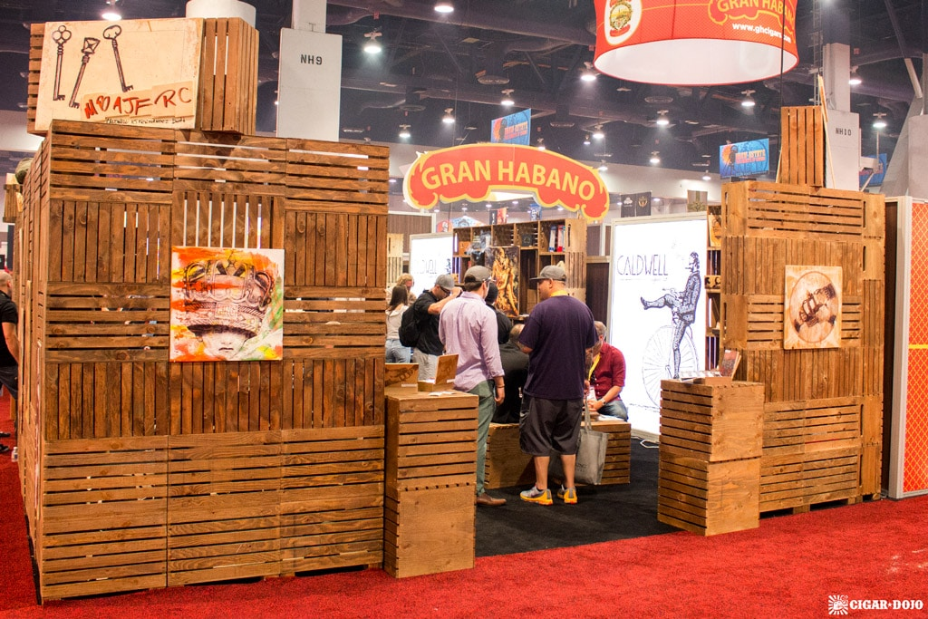 Caldwell Cigar Company booth IPCPR 2017