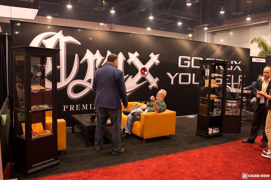 Crux Cigars booth IPCPR 2017
