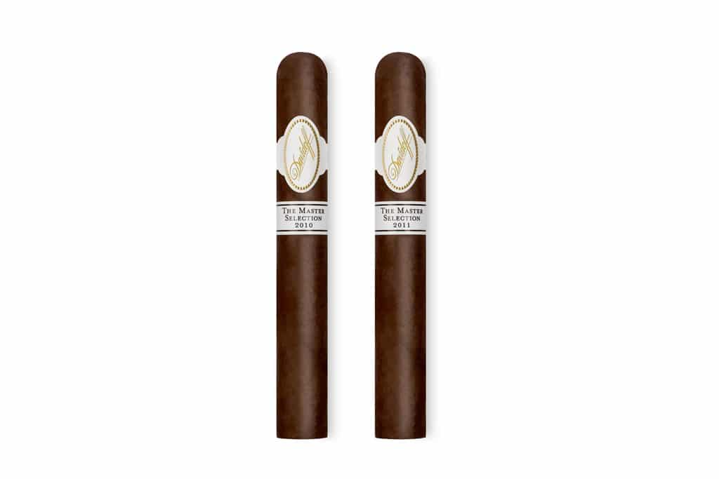 Davidoff Master Selection Series 2010 & 2011 cigars