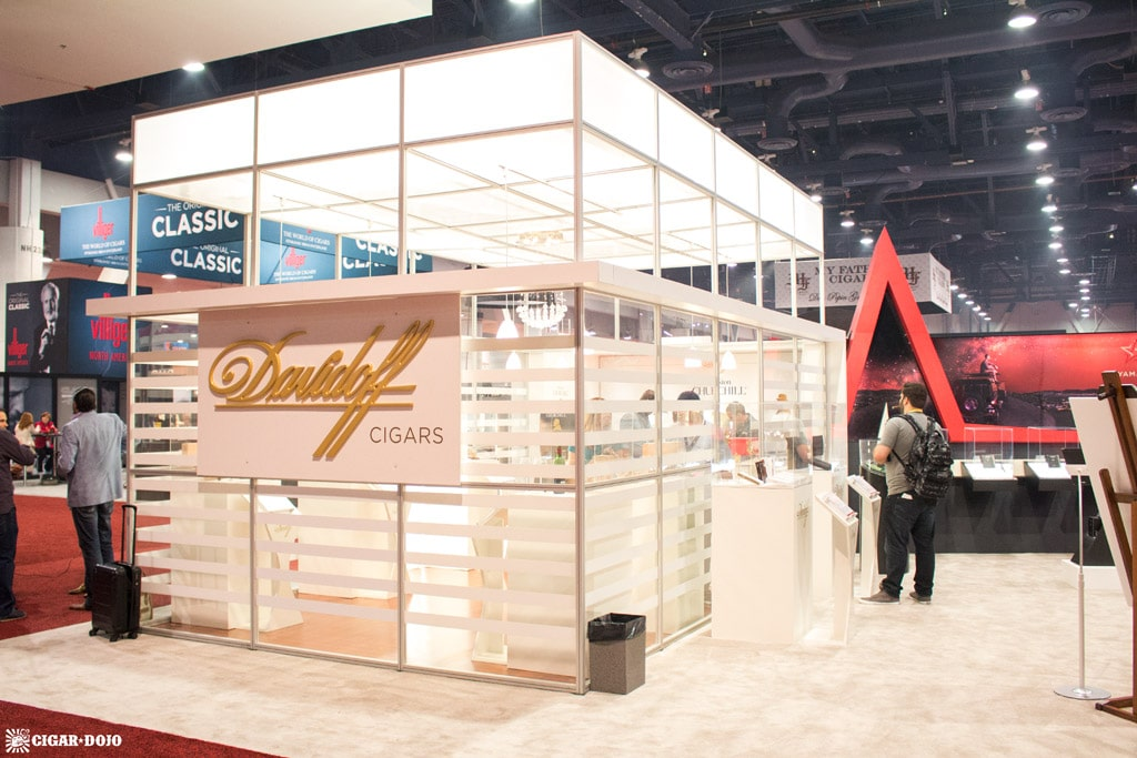 Davidoff Cigars booth IPCPR 2017