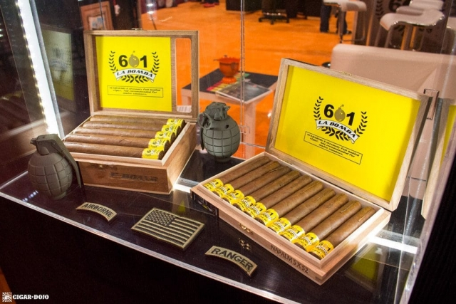 Espinosa 601 La Bomba display IPCPR 2017