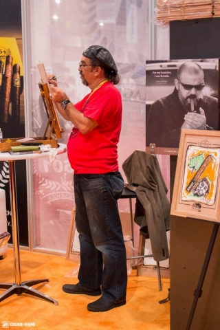 Espinosa booth artist IPCPR 2017