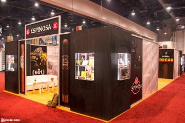 Espinosa Premium Cigars booth IPCPR 2017