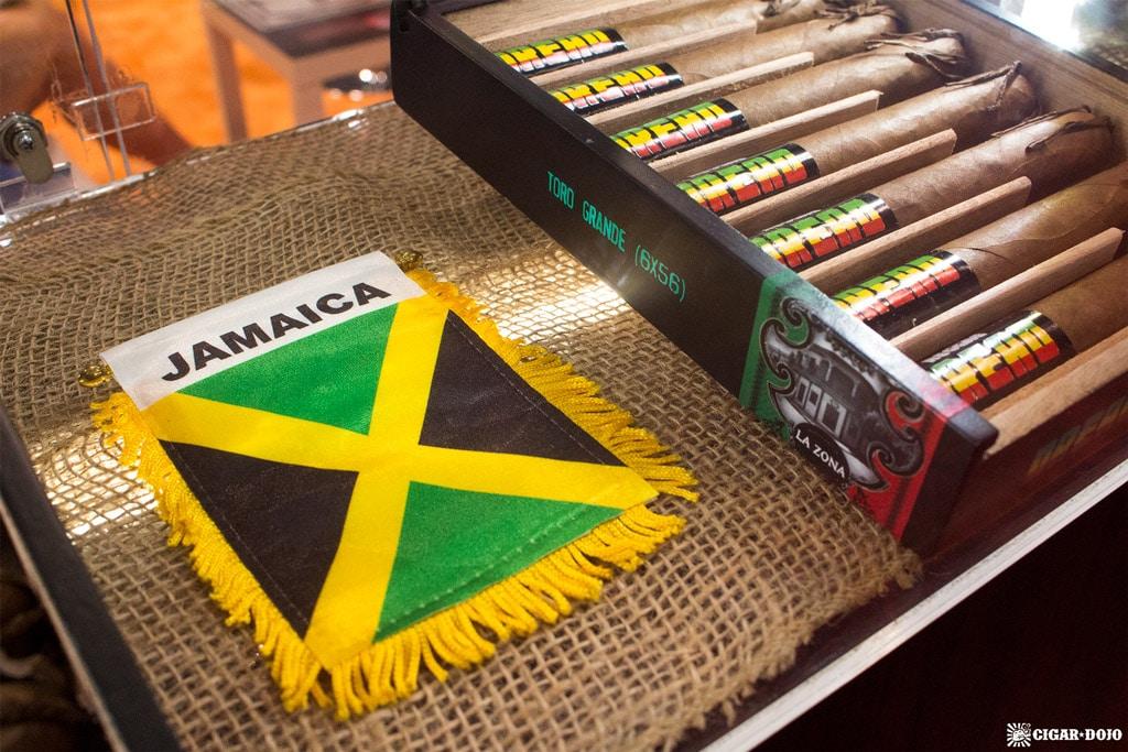 Espinosa Reggae Jamaican flag display IPCPR 2017