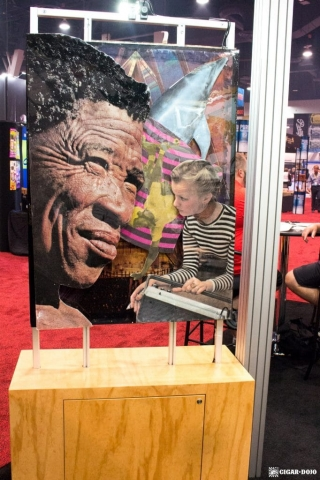 Foundation Cigar Company booth artwork IPCPR 2017