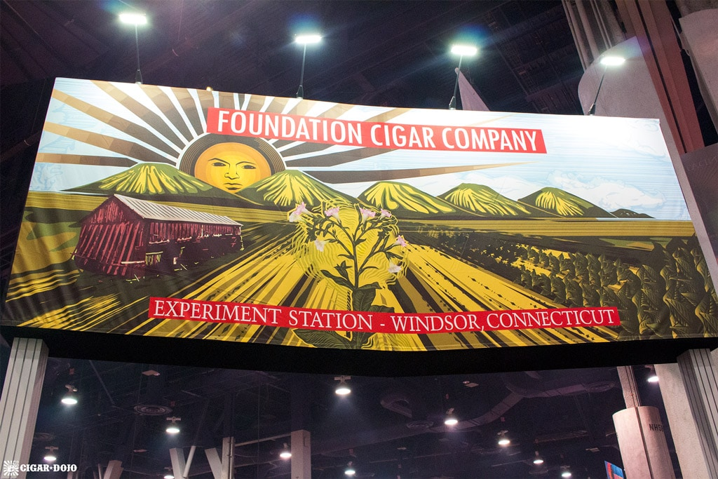 Foundation Cigar Company booth IPCPR 2017