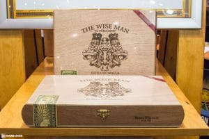 Foundation Cigar Company The Wise Man Maduro cigar box IPCPR 2017