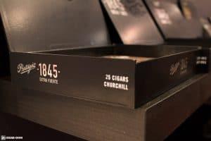 Partagas 1845 Extra Fuerte cigar box IPCPR 2017