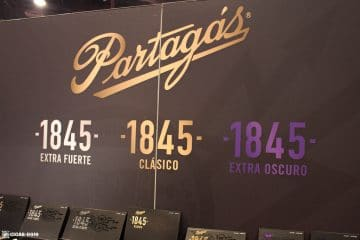 Partagas Cigars booth IPCPR 2017
