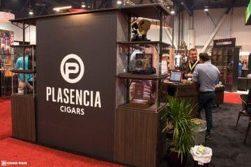 Plasencia 1865 cigar booth IPCPR 2017