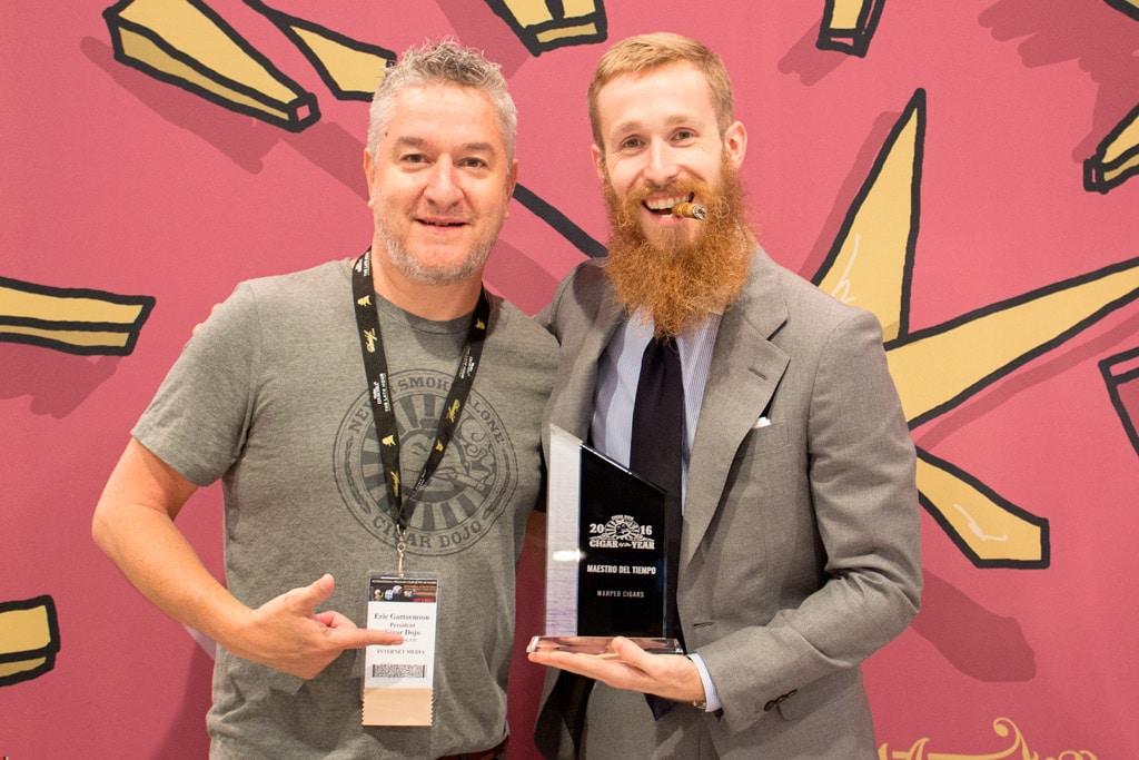 Kyle Gellis Cigar Dojo Cigar of the Year plaque