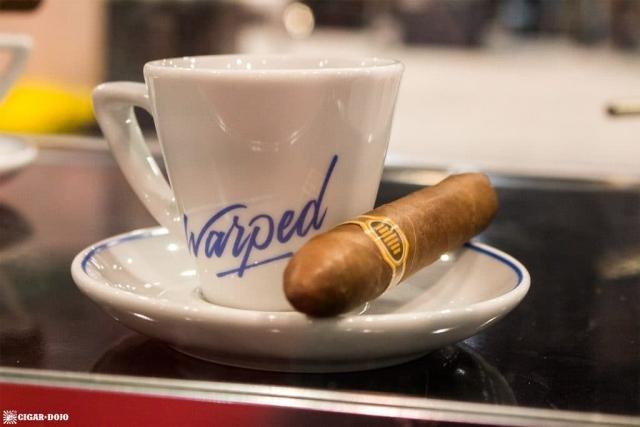 Warped Cigars espresso cup IPCPR 2017