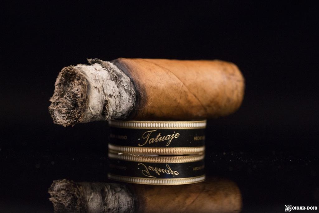 Tatuaje Négociant Monopole No. 4 cigar nubbed